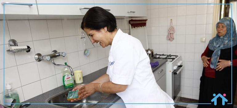 huishoudelijke hulp schoonmaak keuken Thuiszorg ELELE
